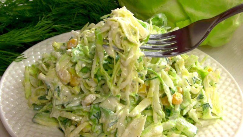 2 салата из капусты