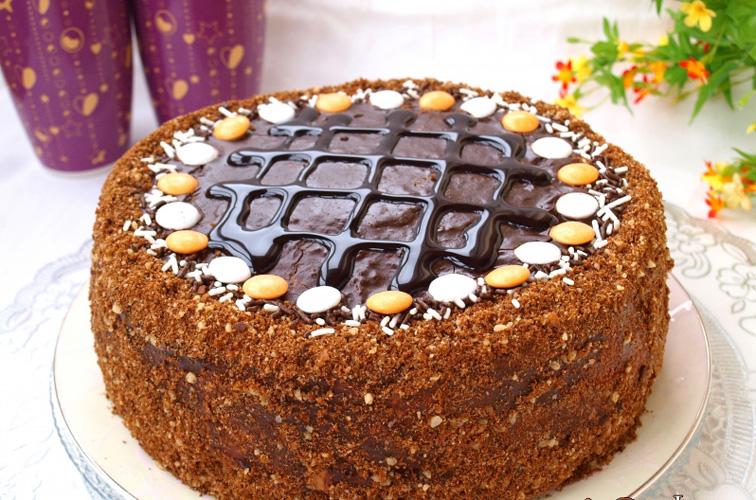 шоколадный торт Дамский каприз