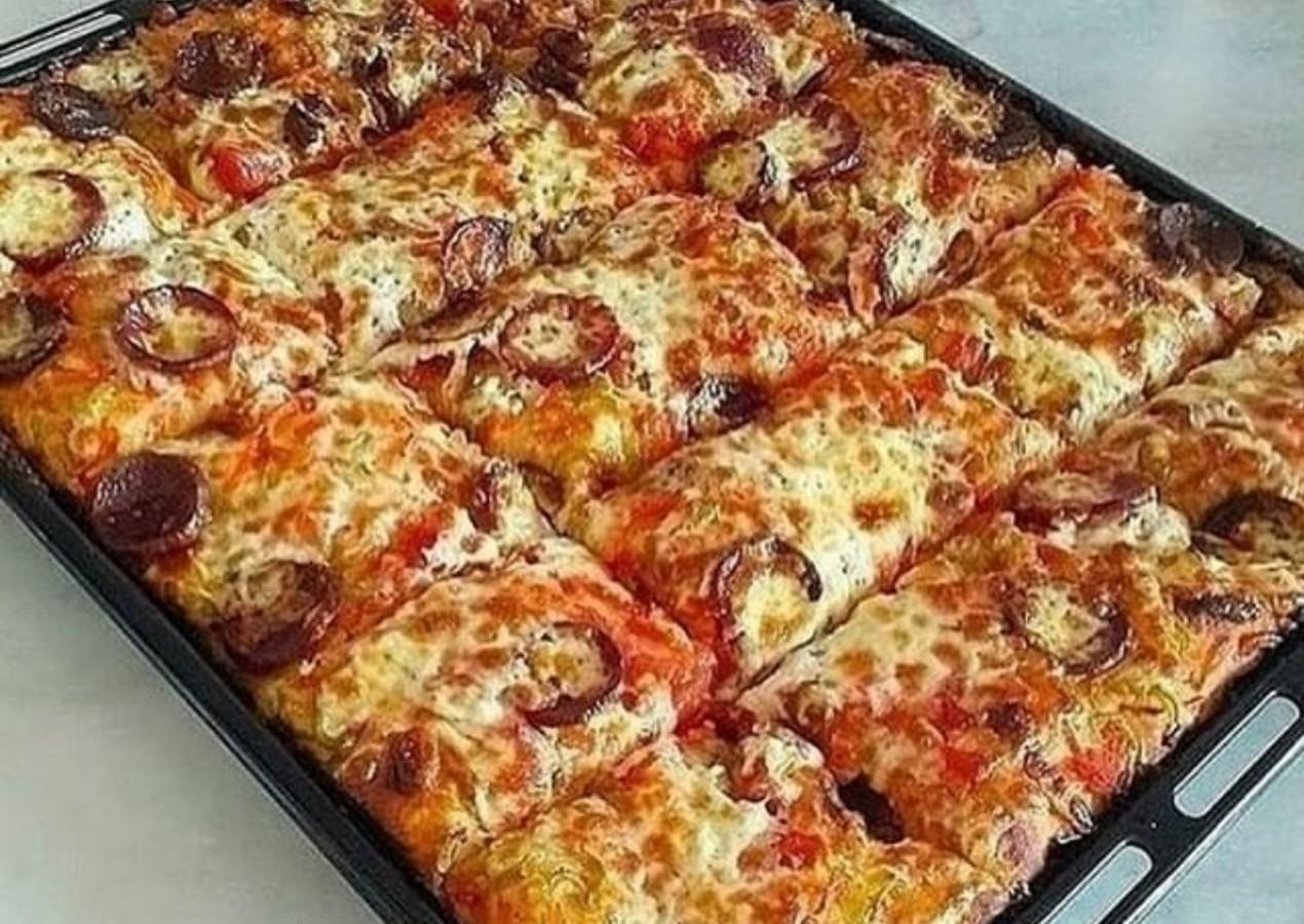 пиццы на кефире