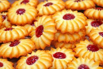 Рецепт песочного печенья Ромашка